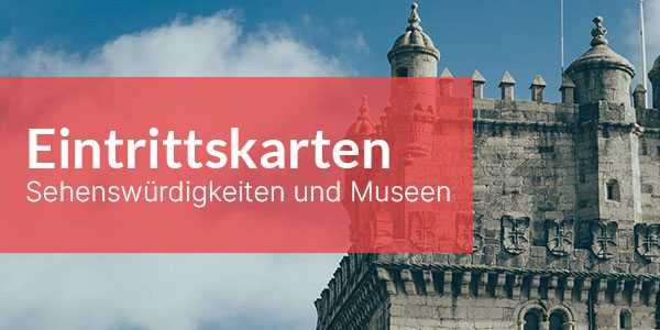 Lissabon Eintrittskarten zu Sehenswürdigkeiten und Museen