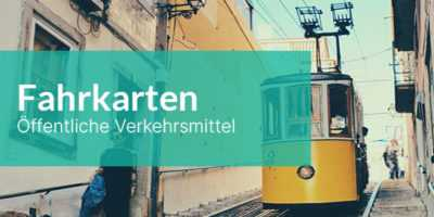 Lisssabon Fahrkarten für die Öffentlichen Verkehrsmittel
